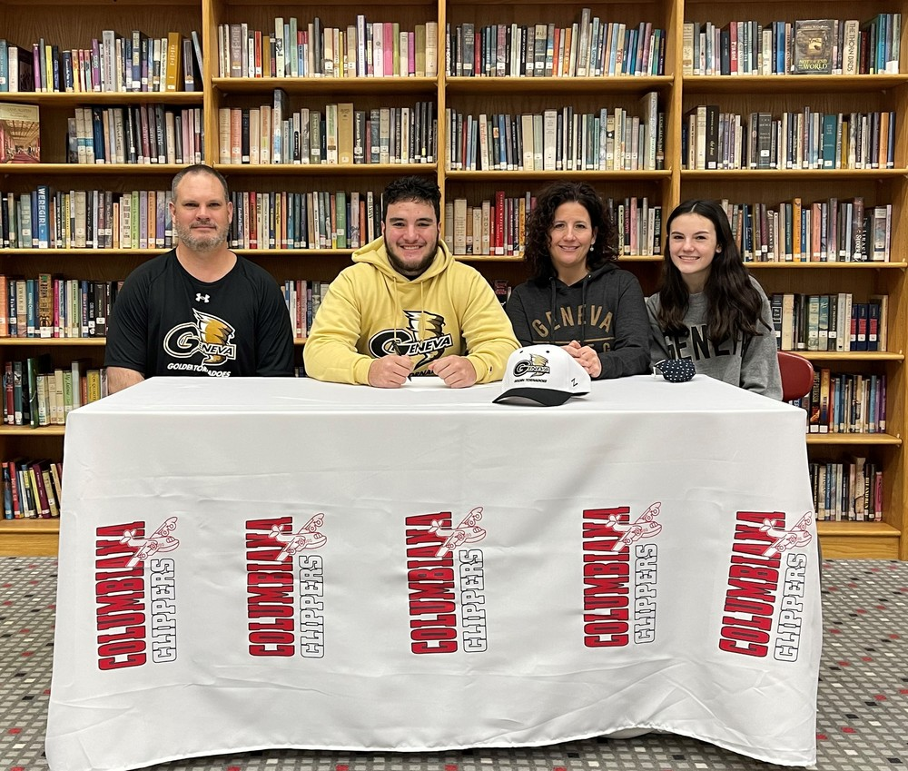 Brady Dixon Signs With Geneva College