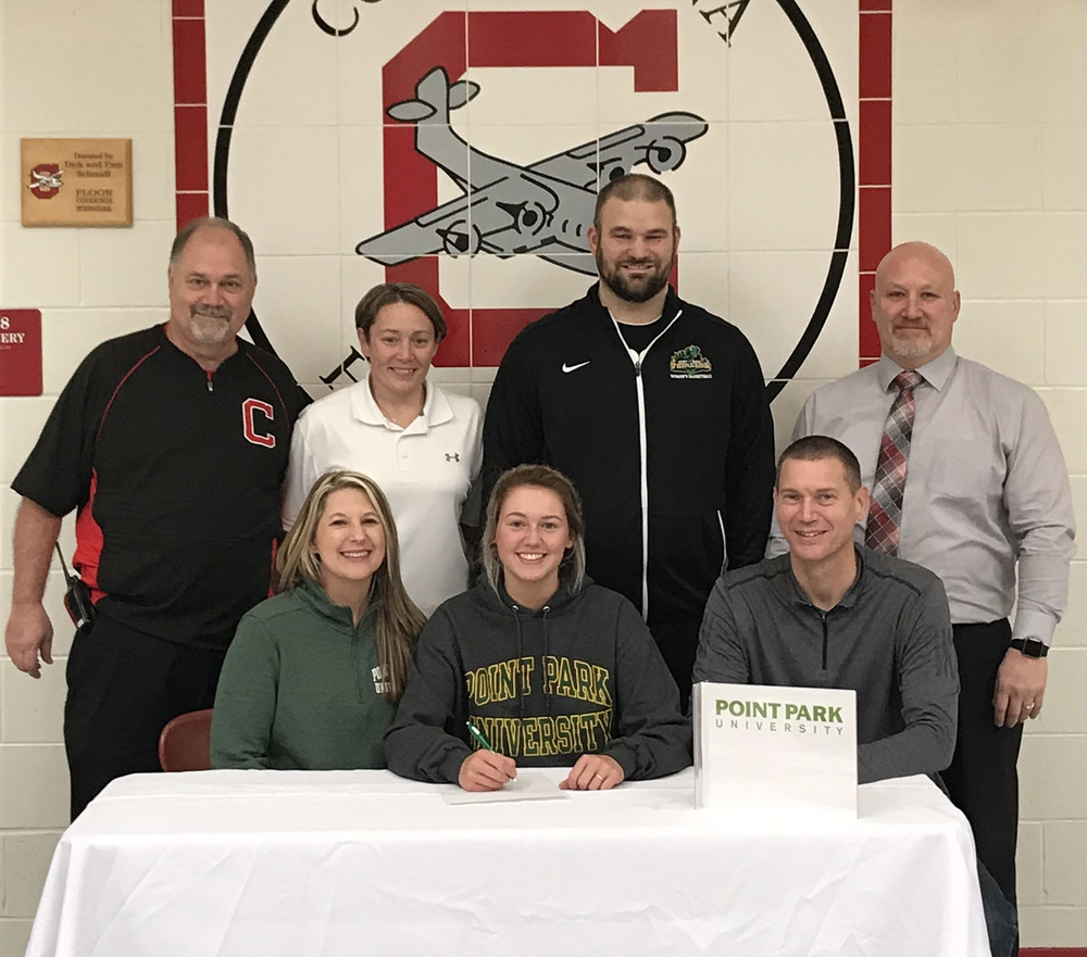 Tessa Liggett signs with Point Park University