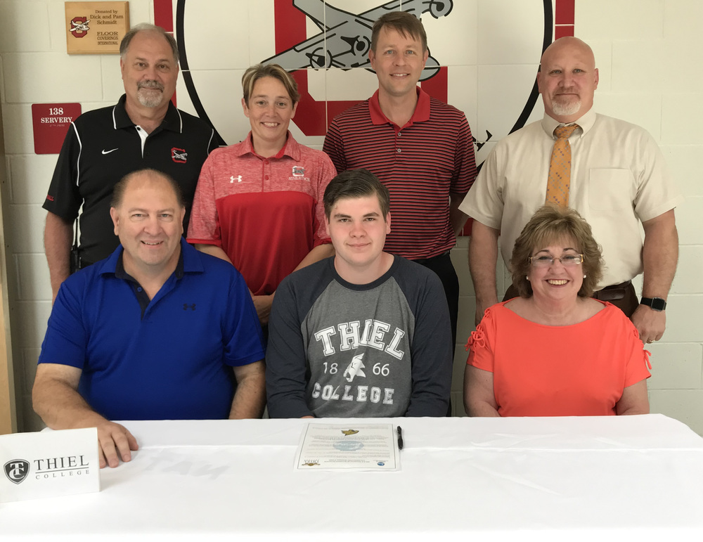 Christopher Costanzo Signs With Thiel College