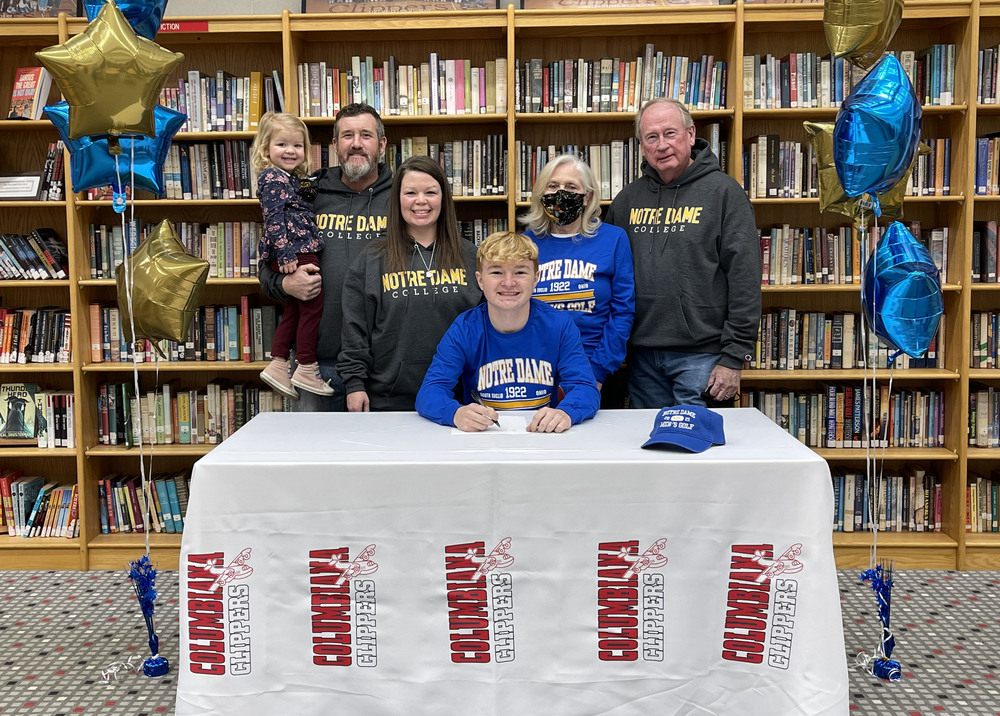 Tyler Andersen Signs With Notre Dame College