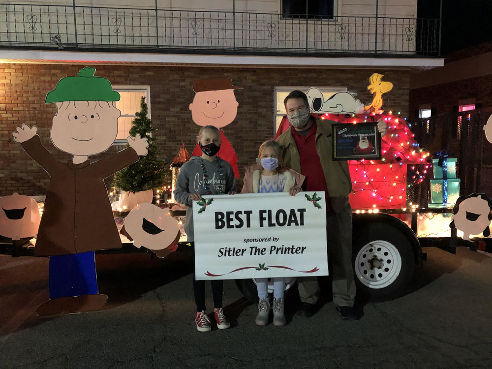 CMS and Dixon Awarded Best Float