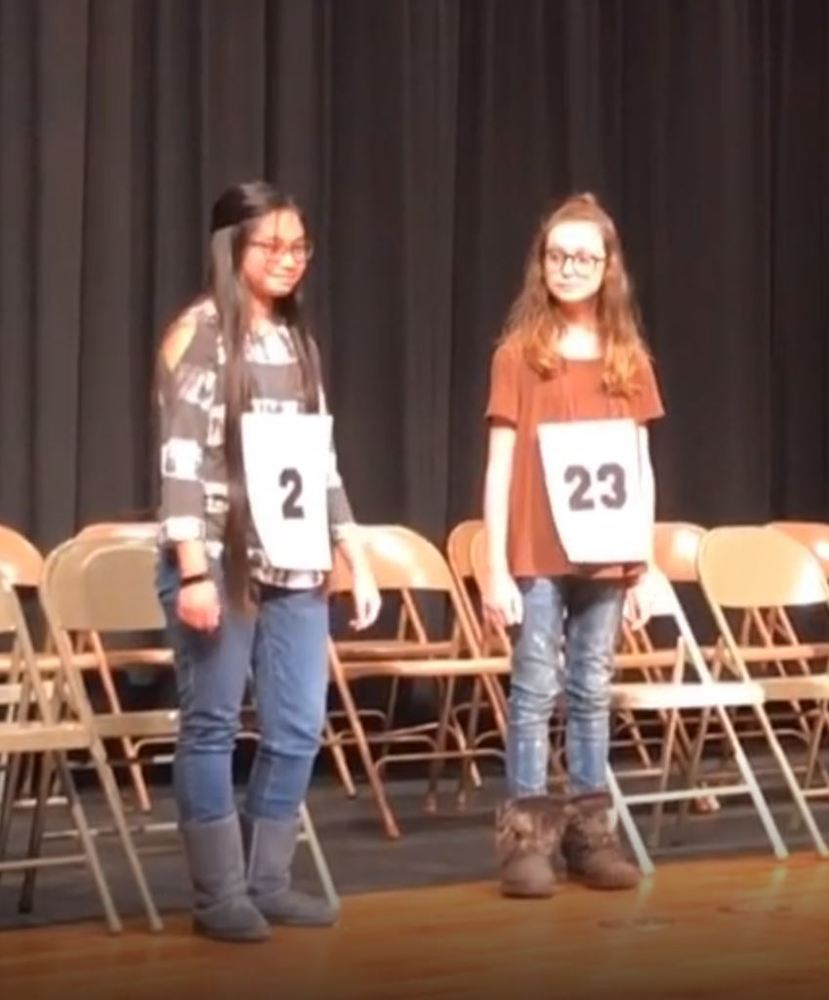 CMS Spelling Bee Finalists