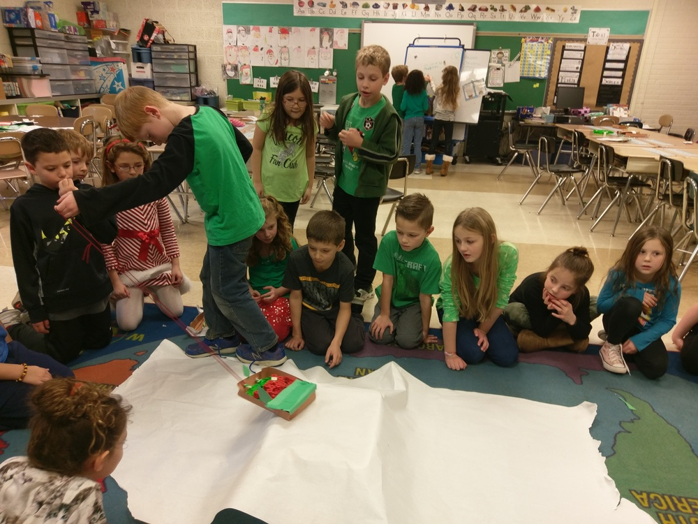 2nd Grade Celebrates...The Grinch!