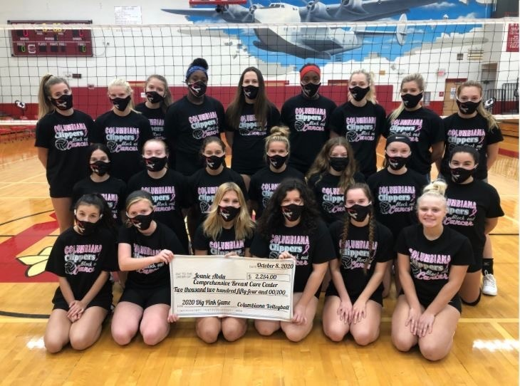 Dig Pink Games Raises Money for Joanie Abdu Comprehensive Breast Care Center