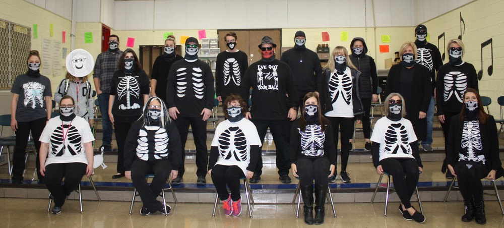 Staff Halloween Picture
