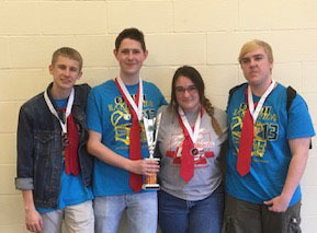 High School DI Team Qualifies for Globals