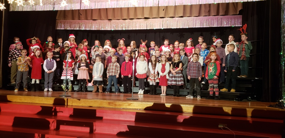 2nd Grade Holiday Program