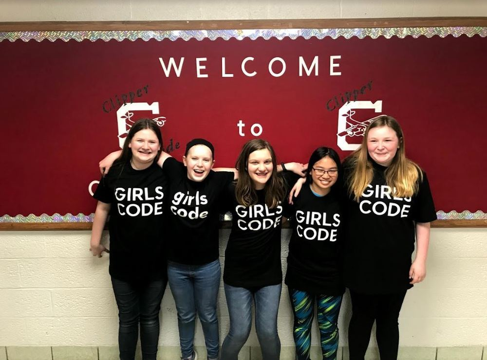 CMS Welcomes Girls Who Code