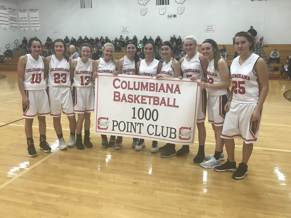 Kayla Muslovski - 1000 Point Club
