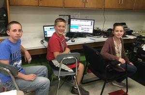 CMS Students participate in Radio Contest