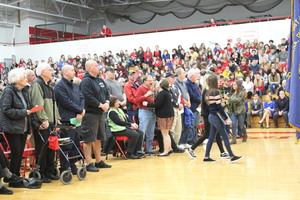 Columbiana Schools Honor Veterans