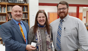 Mrs. Silver Awarded Key Clipper Award