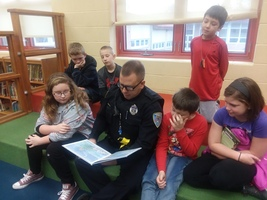 CPD Reads to Dixon Students