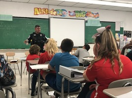 Columbiana Middle School Discusses 9/11
