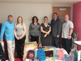 Whispering Pines Backpack and School Supply Donation