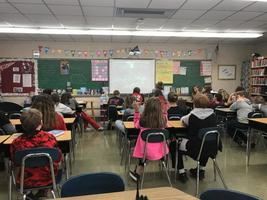 CMS Students Connect With a Class in Argentina