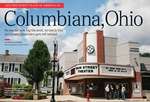 Columbiana selected as the nicest place in the country!