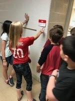 5th Graders Complete Lock Box Scavenger Hunt Challenge