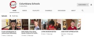 Columbiana Schools YouTube Channel