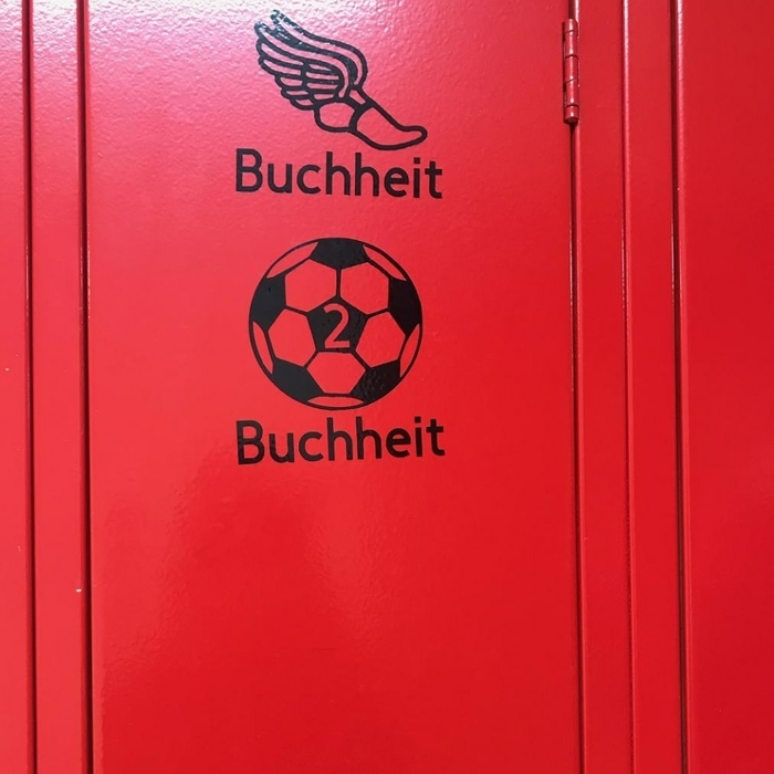 Locker Decal