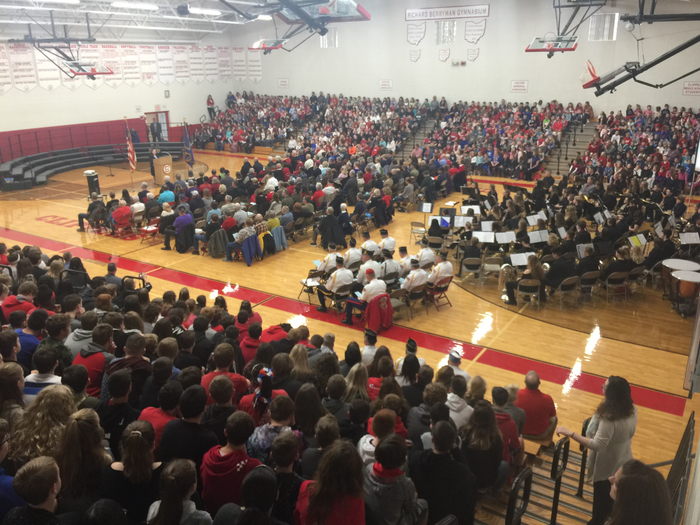 Veterans Day at Columbiana High School