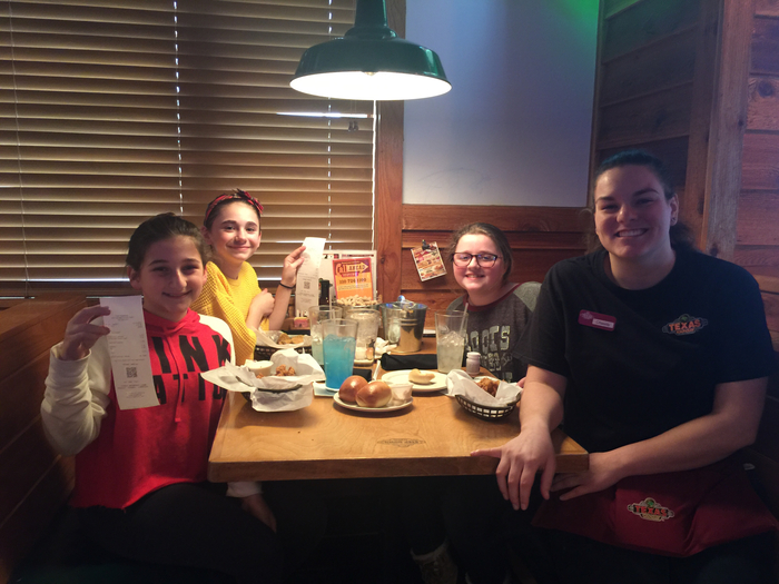 Kayley - Alexa - Heaven - take a trip to the Road House for extra credit!!