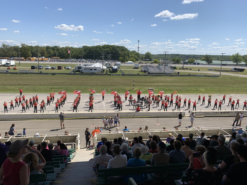 Clipper Band at the Canfield Fair
