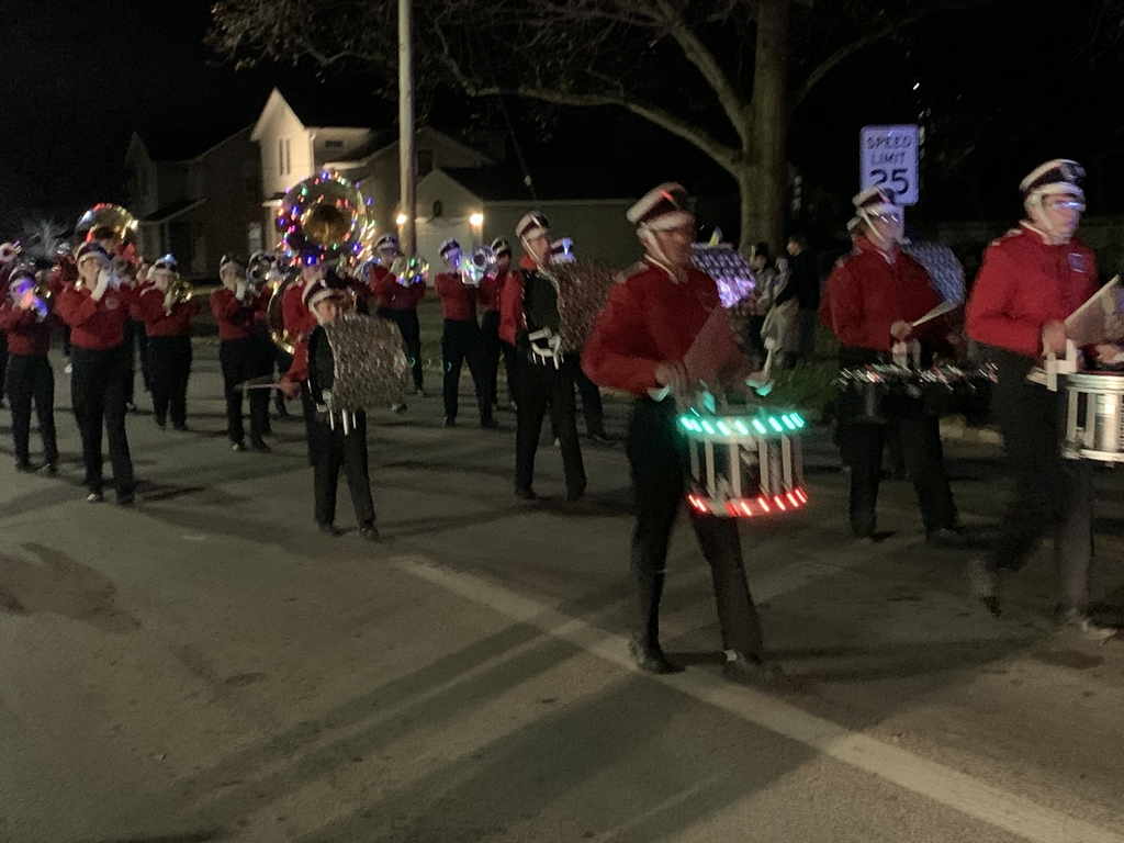 Columbiana Parade. CHS Band