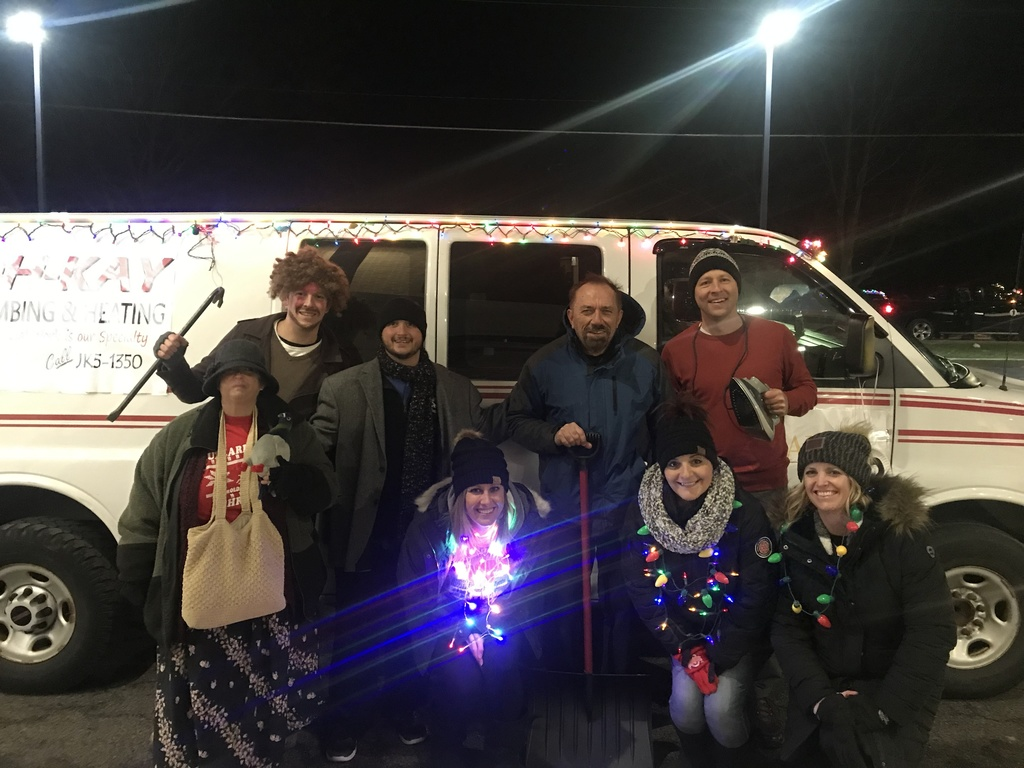 "High School Staff - ""Home Alone Theme"" Columbiana Christmas Parade"